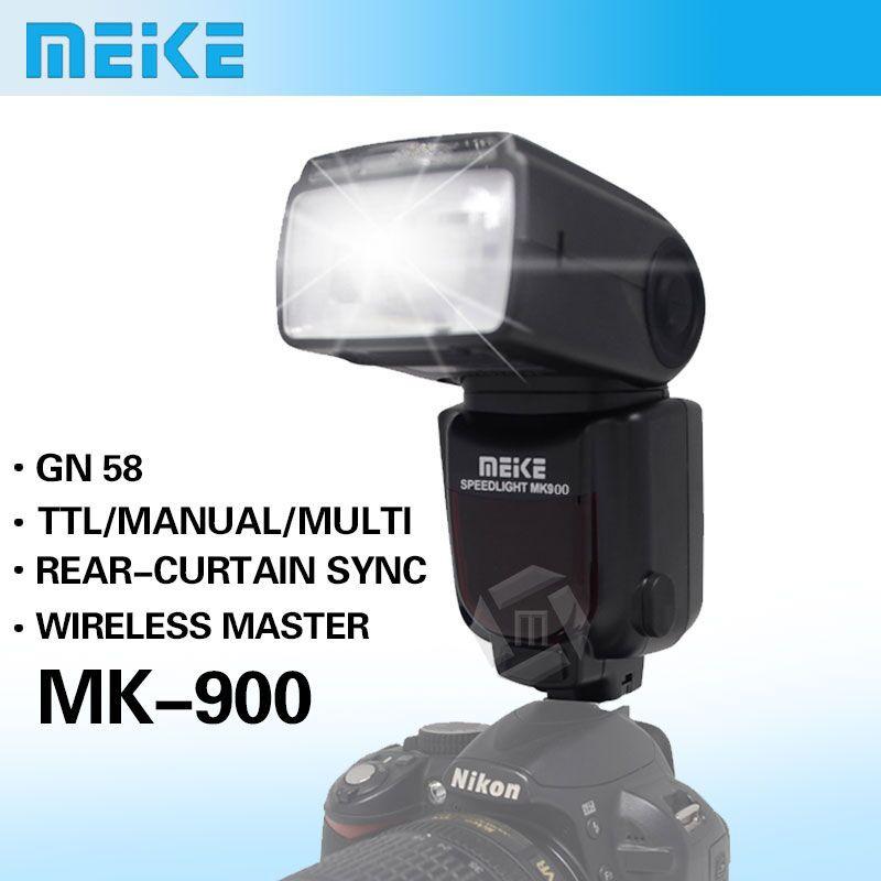 Meike MK 900 TTL i TTL LCD Flash Speedlite for Nikon SB 900 D7100 D7000 D5100
