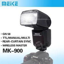 Meike MK-900 TTL i-TTL LCD Flash Speedlite for Nikon SB-900 D7100 D7000 D5100 D5200 D800 D800E D600 D300 VS  YN-565EX II