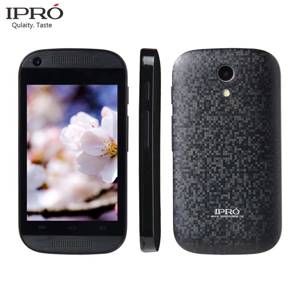 2016 New Hot Brand IPRO Phone MTK 6571 Smartphone Dual Core Android 4.4 Mobile Phone Capacitive Screen Dual cameras Cell Phone(China (Mainland))