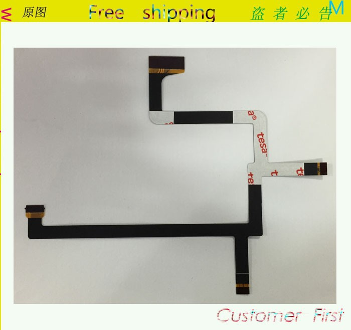 10 Pcs /Lot Original New for DJI Phantom 2 Vision Plus Gimbal Camera Flex cable Ribbon Repair Parts