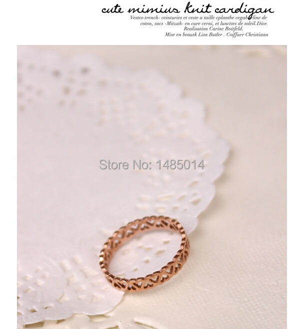 Professional Ring Factory Offer 18K Gold Plating Stainless Steel Ring(China (Mainland))