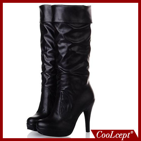size 34-43 women over knee boots winter women lady half fashion sexy shot boot high heel shoes P2690(China (Mainland))
