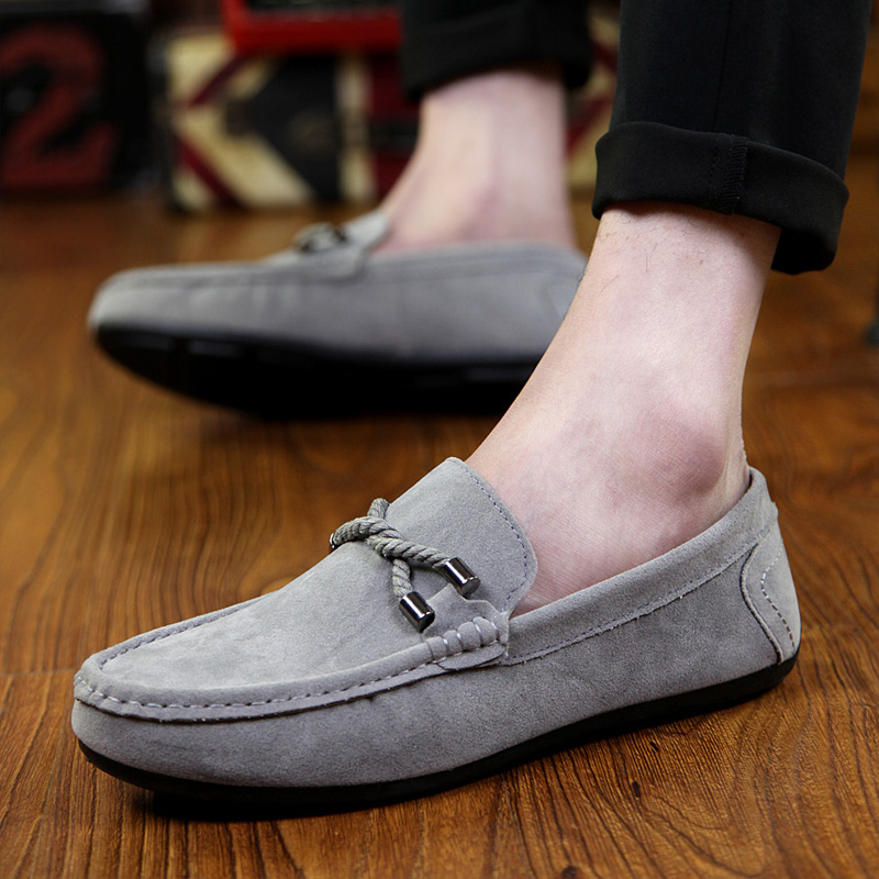 2016 new arrival men boat shoes leather mocassine shoes men hand sewing leisure shoes breathable cheap men shoes casual(China (Mainland))