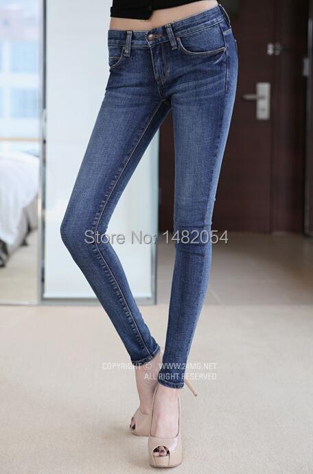Лето карандаш джинсы женщина средняя талия полная длина молния приталенный fit узкие брюки сзт 9871