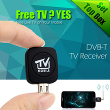 High Quality DVB-T Micro USB Tuner pad Mobile TV Receiver Stick For Android Tablet Pad Phone(China (Mainland))