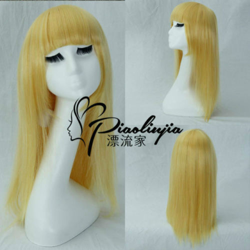 HOT sell Free Shipping >> the Dark Child Annie Long Blonde LOL League of Legends Cosplay Party Wig Hair