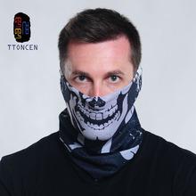 Skull Bandana  Multifunctional seamless tube bandana Multi Use Polyester Fiber Snood Quick Dry Hip Hop Head Scarf Bandanas(China (Mainland))