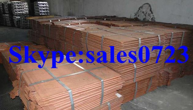 Copper Cathode 99,97% -99.99% grade A hot on sale(China (Mainland))