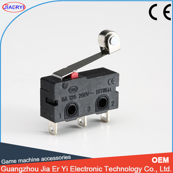 High quality short hinge roller lever omron micro switch(China (Mainland))