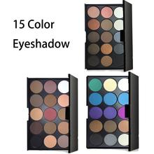 Pro 15 Colors Matte glitter eyeshadow Palette sombras Cosmetic Makeup Eye Shadow palette de maquillage