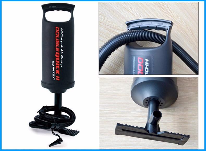 Portable air pump inflator for swimming ring balloon yoga for Housse ballon yoga
