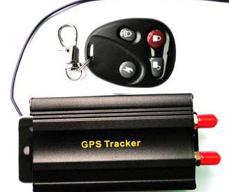 Hot selling GPS103B+ Dual SIM Card GPRS/GPS Auto Vehicle TK103B+ Car GPS Tracker Tracking Device with Remote Control Car Alarm(China (Mainland))