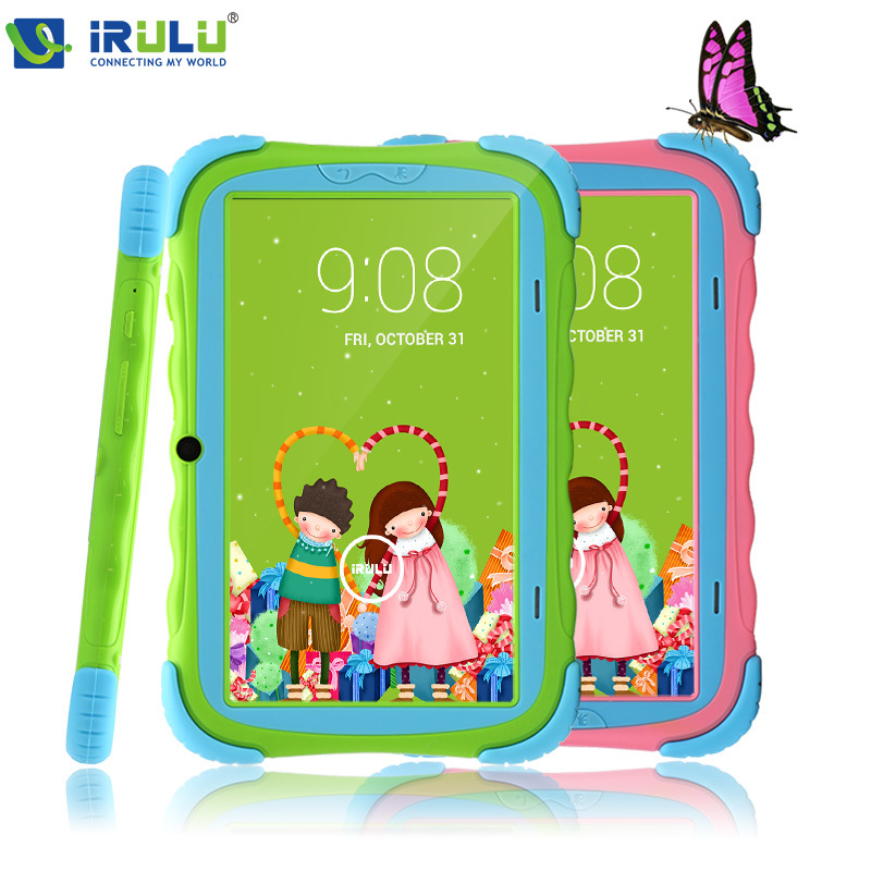 IRULU Brand  7'' Kids Tablet for Children RK3026 Cortex A8 Android 4.2.2 Dual Core 512M+8GB Dual Camera External 3G wifi