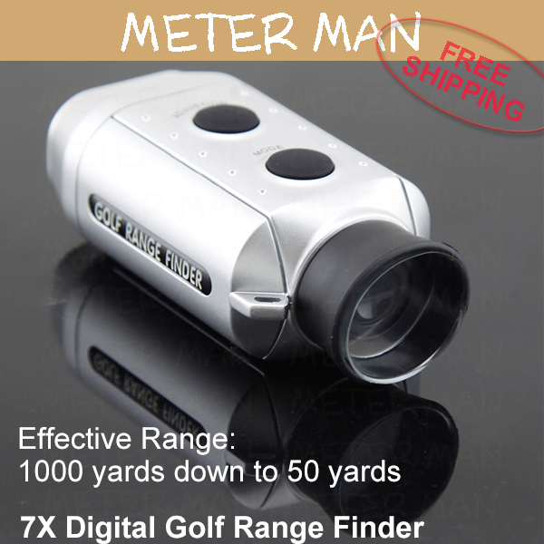 Brand New Handheld 1000 yard Distance Meter 7X Digital Golf Range Finder Monocular