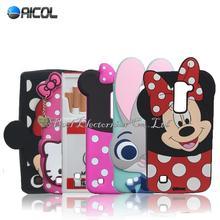 3D Cartoon Mickey Minnie Mouse Rabbit Case LG K7 LTE X210 MS330 LS675/M1/Tribute 5/Q7 Soft Cute Cover - Aicol Electornics Co,.Ltd store