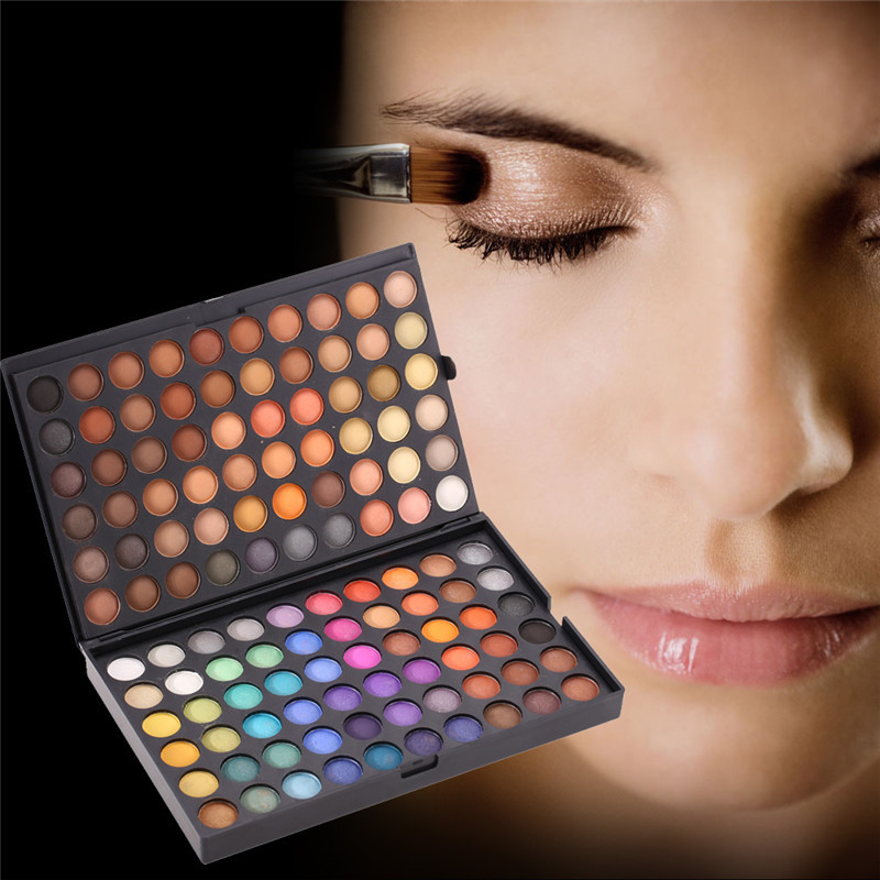 Pro 180 Full Color Makeup Eyeshadow Palette Neutral Eye Shadow