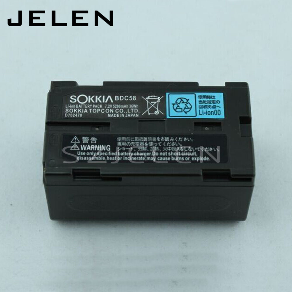 NEW for SOKKIA BDC58 BDC-58 Li-ion battery, for SOKKIA total Station AND GPS RTK, 7.2V 5200mAh SOKKIA BDC58 battery<br><br>Aliexpress
