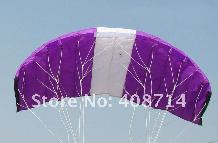 how to fly a dual line parafoil kite
