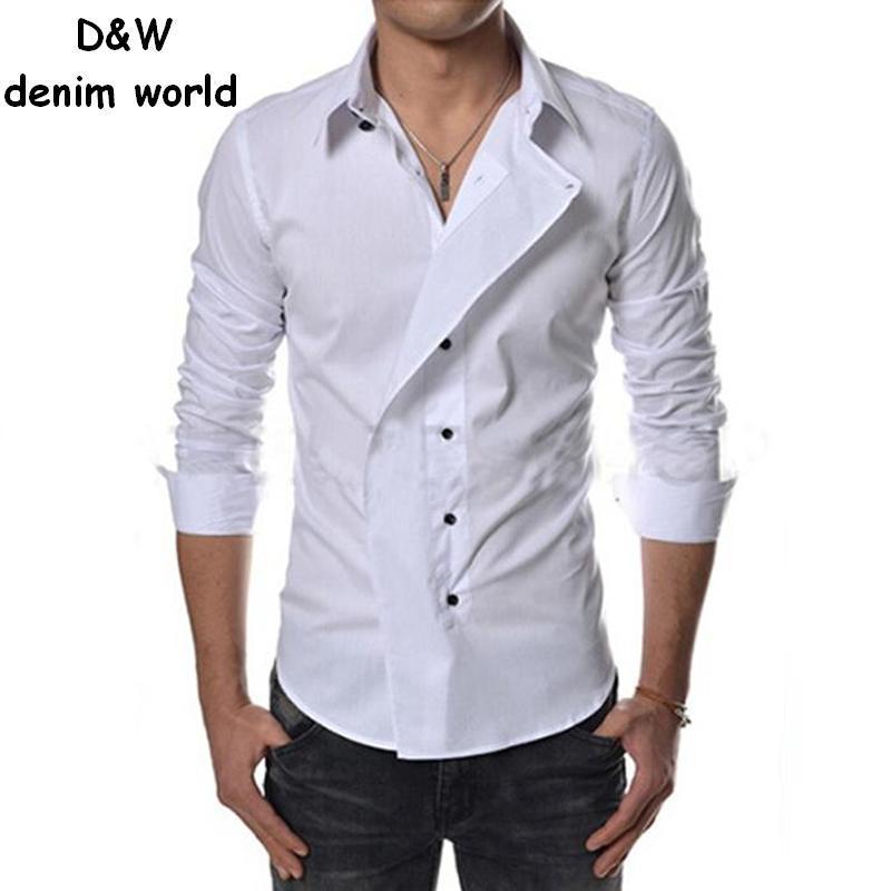 New 2015 spring autumn cotton dress shirts high quality for High quality mens shirts