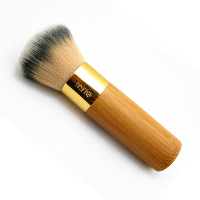 Brand 1 pcs tart makeup brushes the buffer airbrush finish bamboo foundation powder contour brushes kabuki kit pinceis maquiagem(China (Mainland))