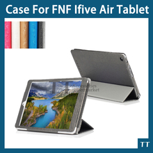 FNF ifive air case , Original High quality Leather Case for FNF ifive air 9.7inch tablet + free 3 gifts