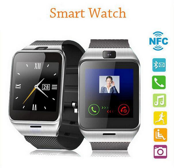 2016 Aplus GV18 Smart watch phone GSM NFC Camera wrist Watch SIM card Smartwatch for Samsung Android Phone<br><br>Aliexpress