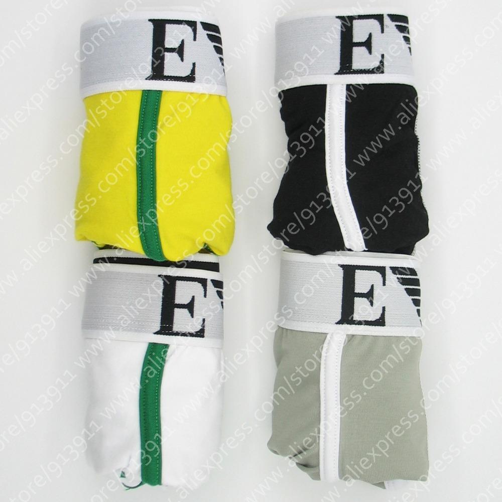 Better quality 3 pcs/lot Sexy Men Boxer Shorts Men's Boxers Mens underwear(China (Mainland))