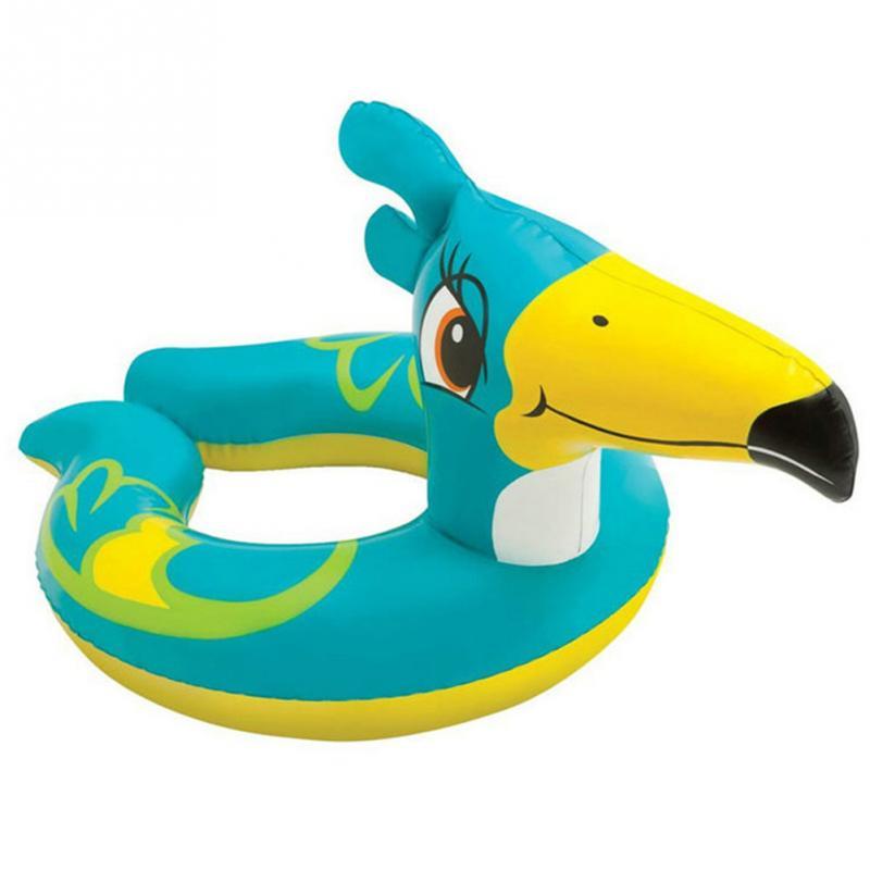 Brand New 1Pcs PVC Children Ring Float Frog Turtle Bird Spilt Swimming Ring Summer Beach Swimming Accs(China (Mainland))