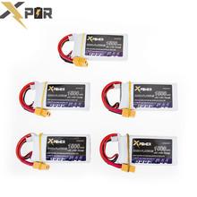 5PCS High Xpower Drone Bateria 7.4V 1500mAh 30C MAX 35C 2S XT60/T Plug Li-po Batteries For Quadcopter Automodelismo RC Battery