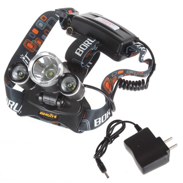 5000LM JR-3000 3X cree-xml T6 4 режим из светодиодов фары фара + зарядное устройство + px2864 для езды на велосипеде отдых туризм