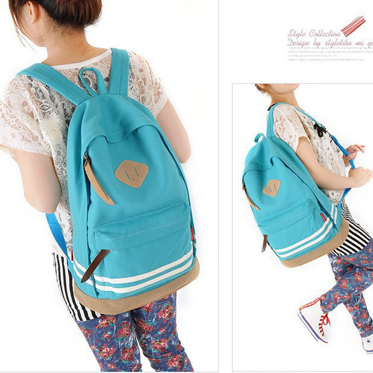 Korean Girl Women Pig Nose Backpack Student School Bag Canvas Travel Rucksack women fashion backpack printing backpacks<br><br>Aliexpress