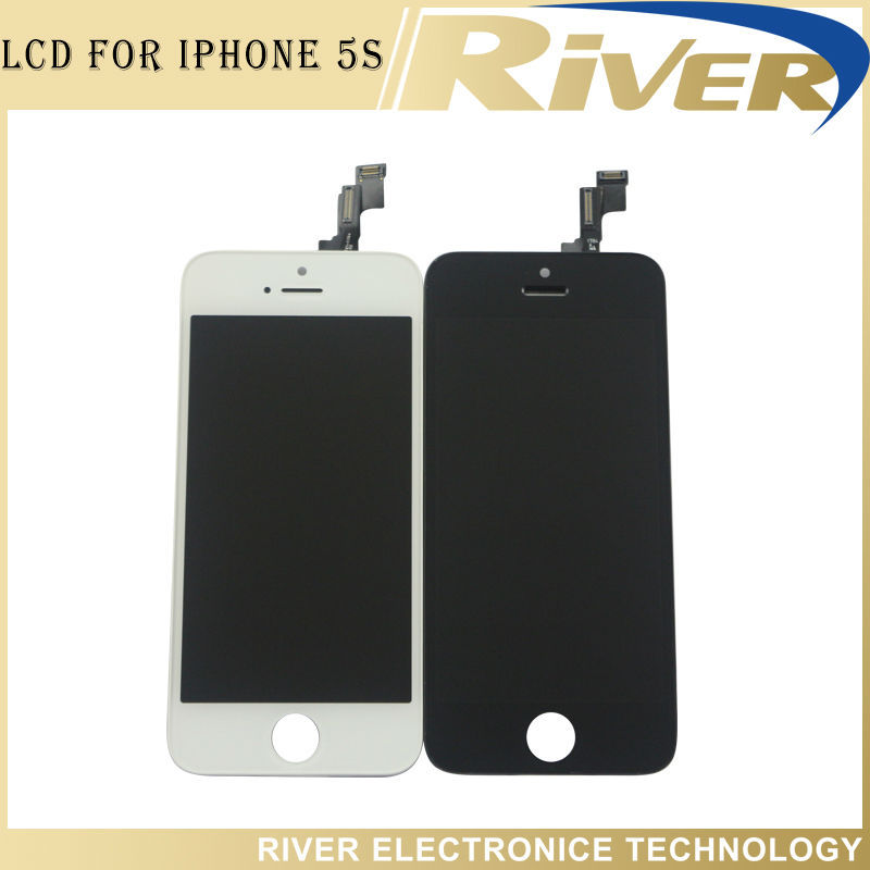 20PCS/LOT 100% Brand New Original For iPhone 5S LCD With Touch Digitizer Assembly Screen Replacement(China (Mainland))
