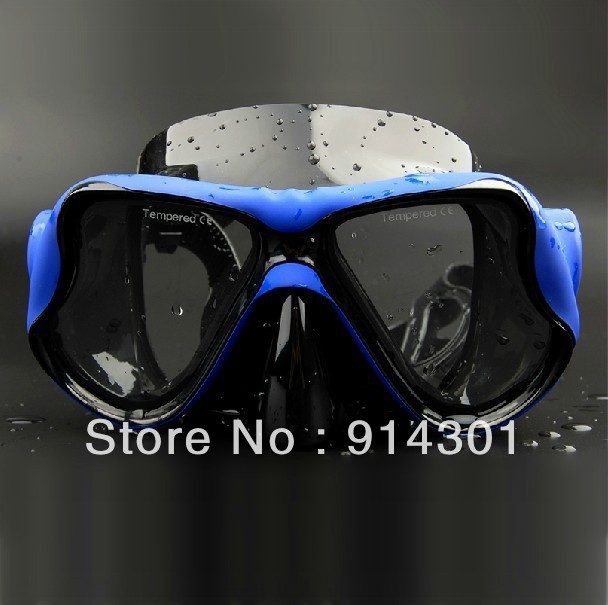 FREE SHIPPING 2013 new arrival fashion submersible mirror glasses face mask snorkel mirror limited supplies