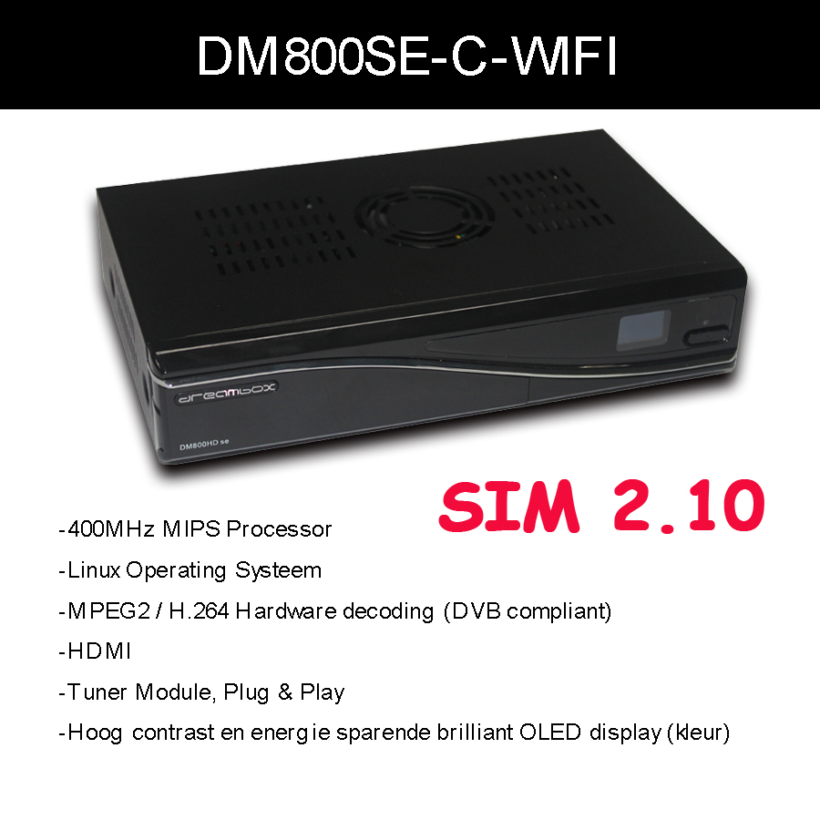 dm 800 hd se dm 800hd se sim2.10 wifi internal DVB-C cable receiver 400mhz processor set top box dm800 se DHL free shipping<br><br>Aliexpress