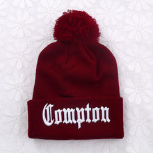 Straight Outta Compton Hiphop Winter Beanie Hats N.W.A Eazy E Ice Cube Dr. Dre Knitted Beanies Hat Cotton Sports Caps Skullies