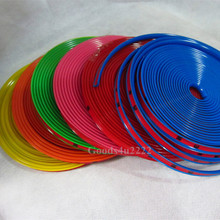 Auto Accessories Car Wheel Rim Wheel Ring Tire Wheel Lip Protector Fashion and beauty Wheel Rims Protector Rubber Moulding(China (Mainland))