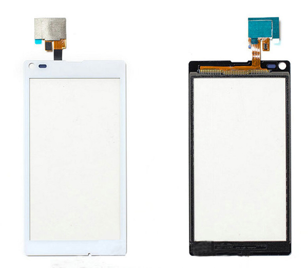 5pcs/lot Original New Top Quality Touch Panel Digitizer Screen Replacement For Sony Xperia L S36H C2104 C2105 Free Shipping(China (Mainland))