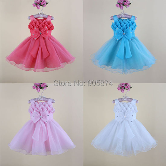 2014 New baby dress birthday party dress,infant lace tutu ballet princess dress,baby clothing,baby girls Wedding Dresses - MixKelly Children Clothes Center store