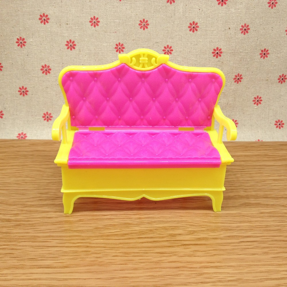 Sizzling Sale Home Funiture Equipment for Barbie Doll Couch Vase Chair Units Ladies Dream Good Reward for Youngsters Free Delivery