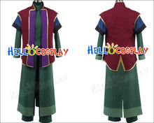 65% cotton+35% polyester Gundam 00 Earth Sphere Federation Mr Bushido Uniform Costume H008