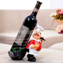 Французский шеф-повар ложка задней смолы мультфильм украшения винный шкаф винный шкаф винный шкаф кукла