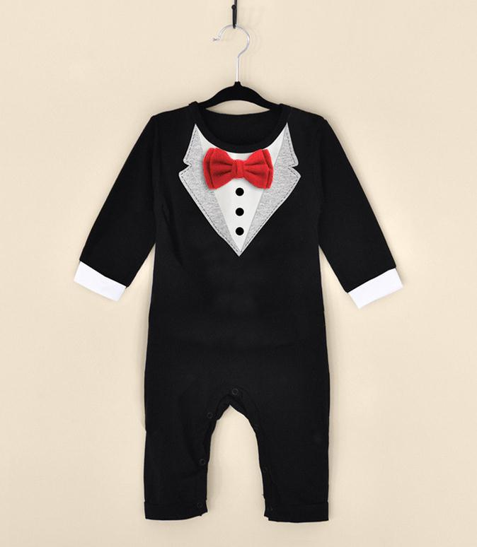 hot sale 2016 summer baby boys clothes baby girl romper romper bow tie hello kitty panda bear jumpsuit(China (Mainland))
