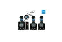 3pcs (1 phone base+ 2 extension) General DECT 6.0 GE 28821 digital cordless telephone answering recording