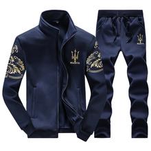Tracksuits Men Leisure Sport Suit Luxury Men's Sportswear Brand Hoodies Hip Hop Jogger Set Cool Sweatshirt Sudaderas Hombre 2016(China (Mainland))