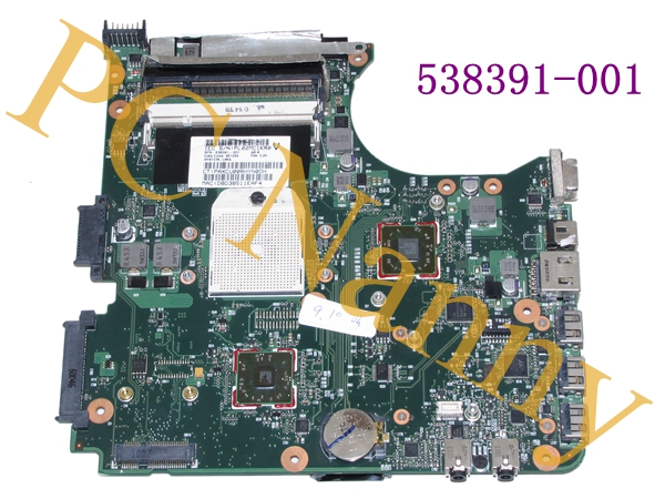 For HP Compaq 515 615 CQ515 QL-66 SI-42 AMD motherboard 538391-001 WORKING(China (Mainland))