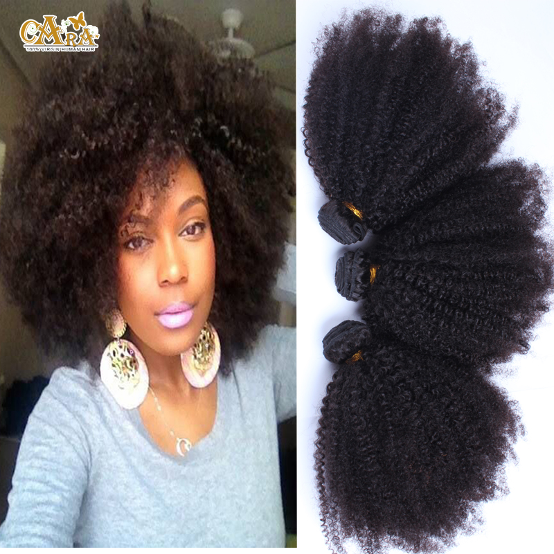 Filipino Kinky Curly Virgin Hair 6A Afro Kinky Curly Hair Extension 3Pcs/Lot Filipino Human Hair Weave Bundles Rosa Hair Product
