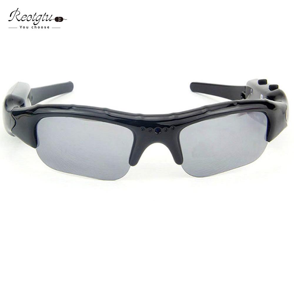 Free shipping DV104 smart HD Glasses Camera Sunglasses mini Eyewear DVR Video Recorder PC Camera Audio(China (Mainland))