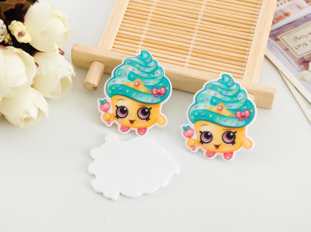 artesanato Kawaii flat back planar resin Cartoon Cake Figurine holiday decoration crafts DIY craft phone hair Bow accessories(China (Mainland))