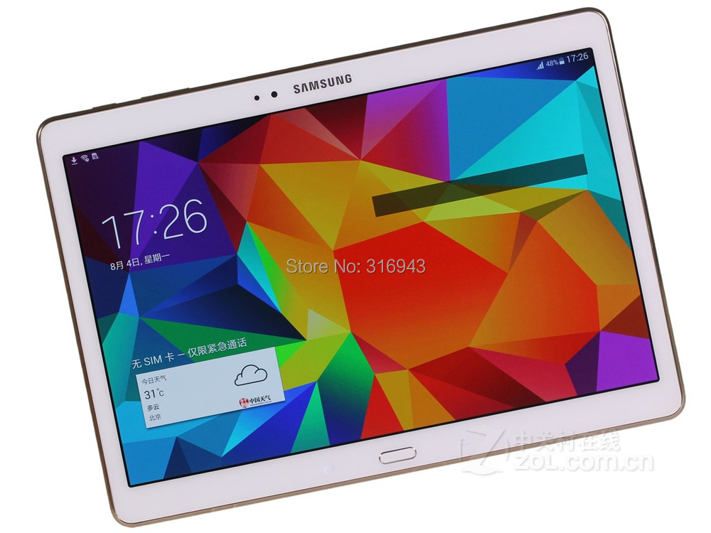 2015 Samsung GALAXY Tab S T805 (4G version )10.5 inches 2560x1600 Qour core + quad-core 4G LTE Tablet PC - LOVE NEST MALL Power Supplier 24hours Service store