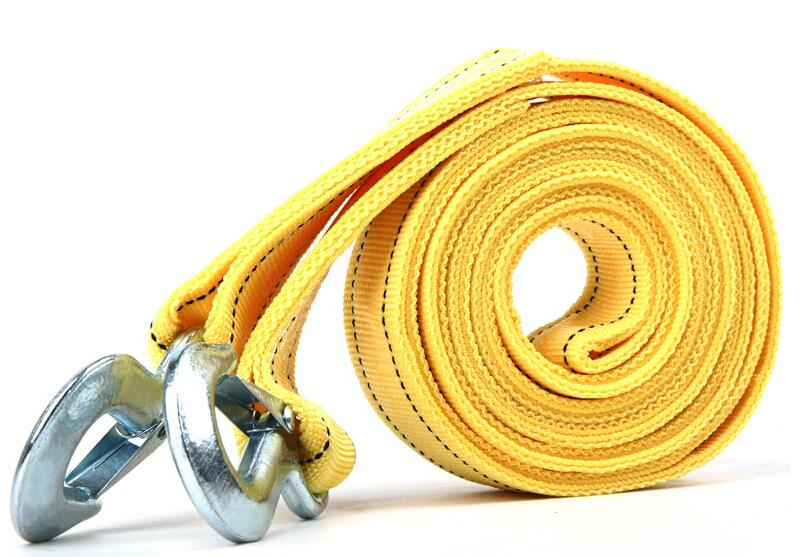 Car Tow Cable Towing Rope Strap With Hook Emergency Heavy Duty / 5 Tons / 4M / For Honda civic city fit jazz 2009-2014(China (Mainland))